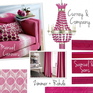COLOR STORY: Falling for Fuchsia