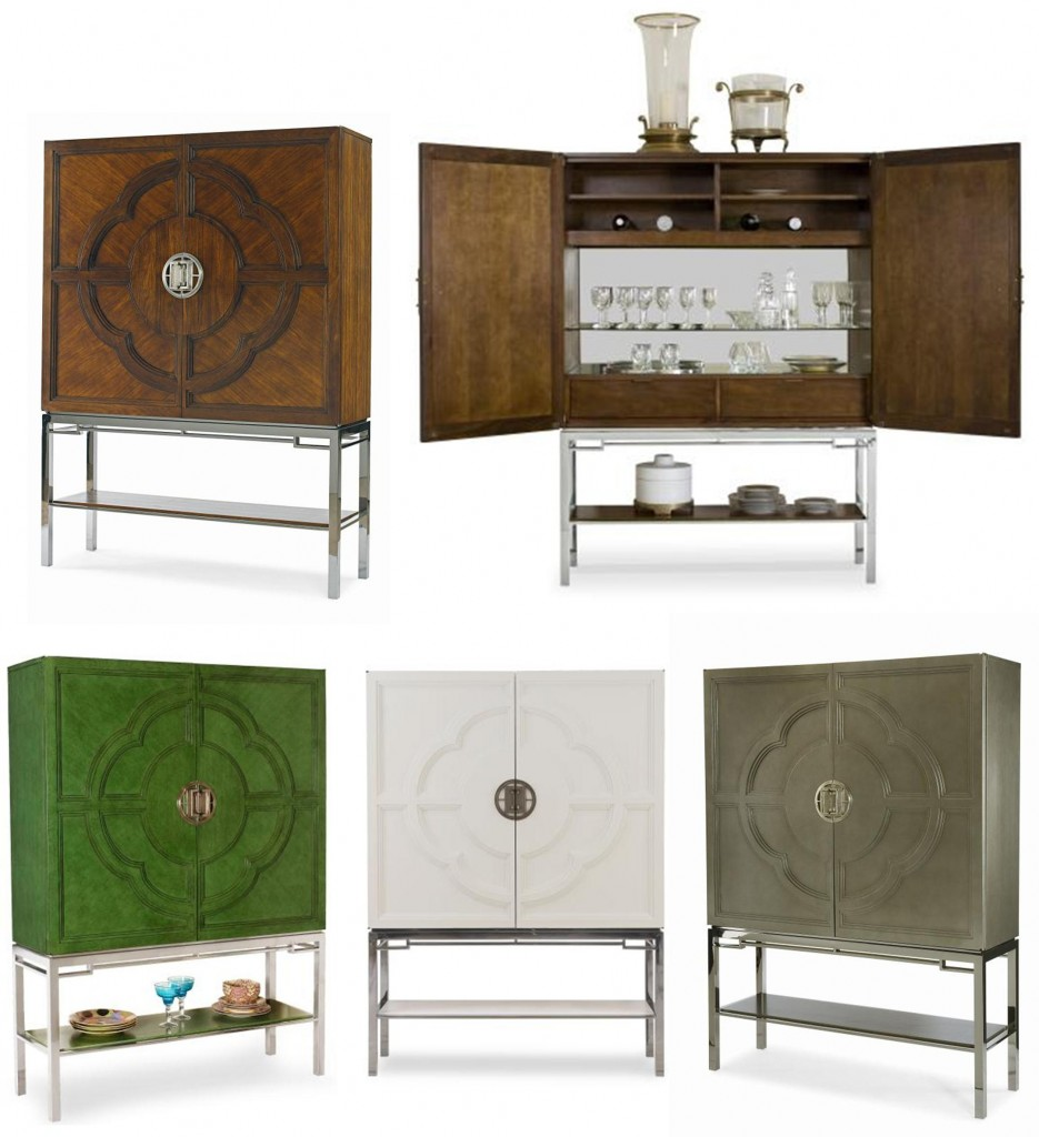 The Lotus Bar Cabinet ...