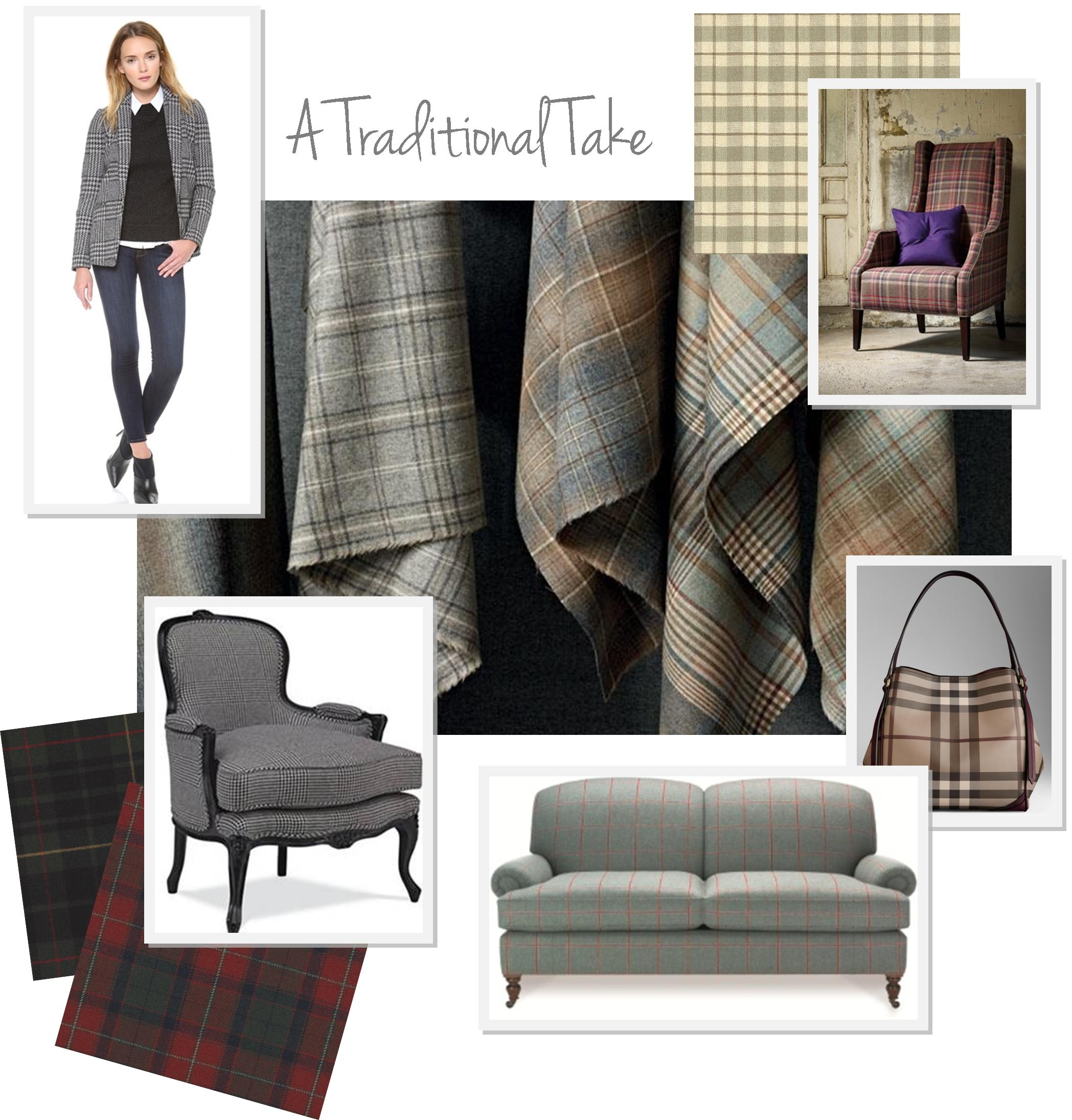 Plaid Timeless Traditional or With a Twist KDRShowrooms
