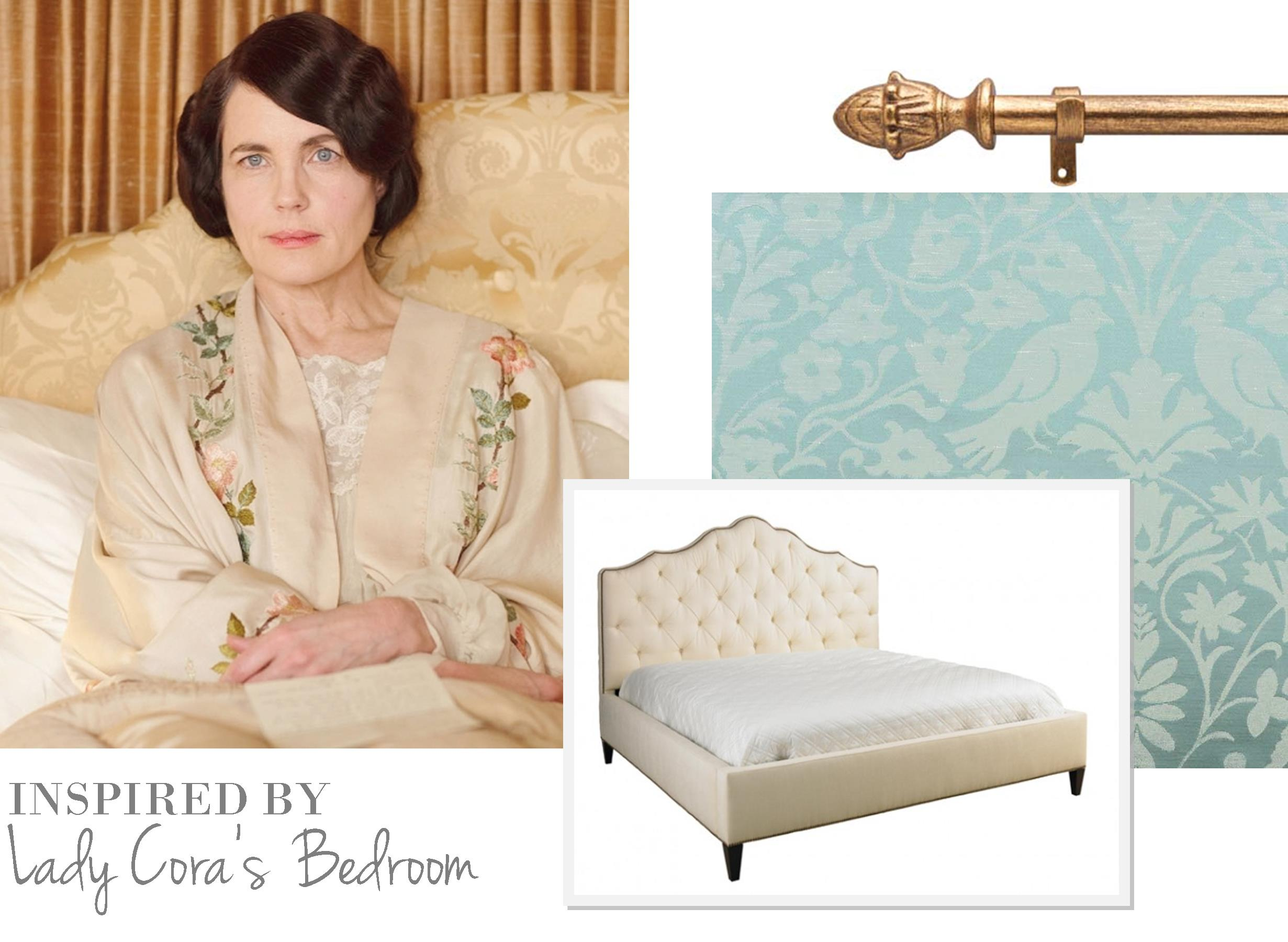 Best Cora Bedroom Furniture Ideas Home Design Ideas  : Downton Abbey Bedroom Inspiration from ramsshopnfl.com size 2461 x 1801 jpeg 286kB