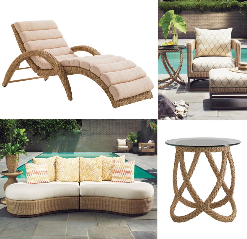 Creating a private paradise designer outdoor furniture for Outdoor furniture designers