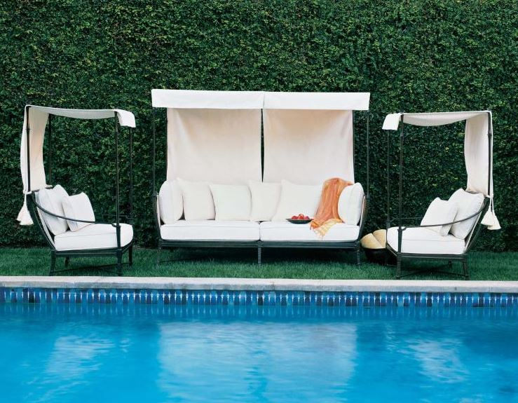 Century Outdoor Furniture available through KDR Designer Showrooms