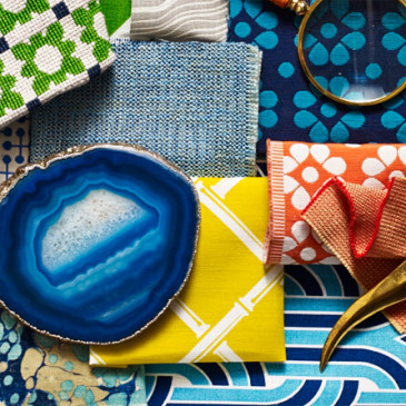 Graphic Patterns + Bold Color for Summer