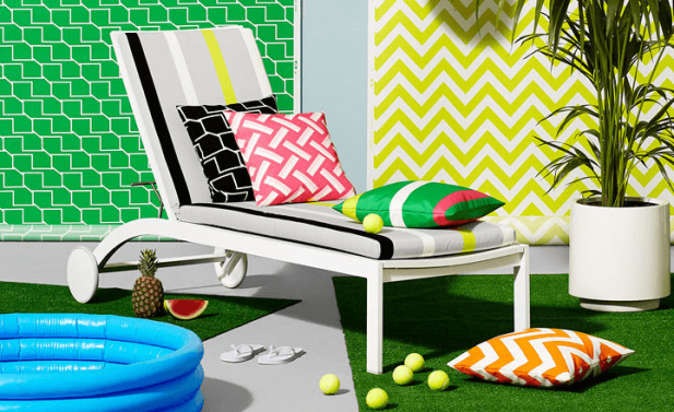 Graphic Patterns: Outdoor Fabric by Kirkby Design
