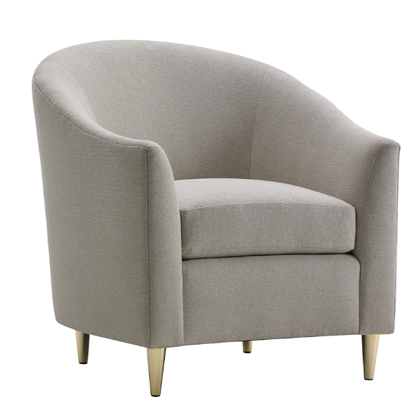 Caresse Club Chair by Barry Goralnick for EFLM