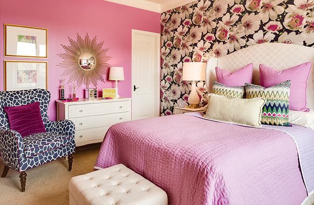 A Bedroom in Bloom