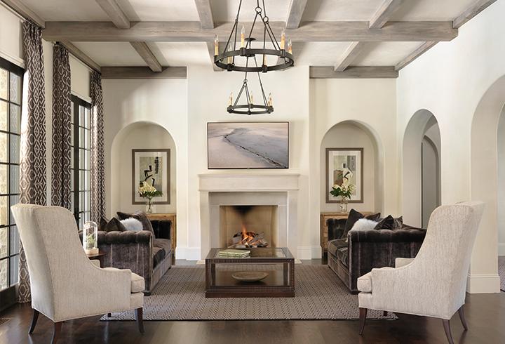 Timeless, Transitional Living Room