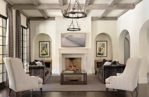 Timeless, Transitional Living Room