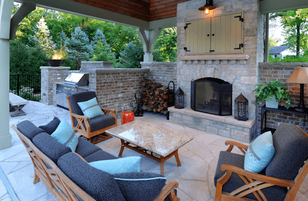 Outdoor Living Room. Johnson Design
