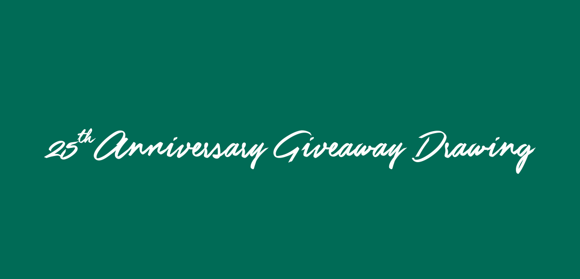 KDR 25th Anniversary Weekly Giveaway Winners