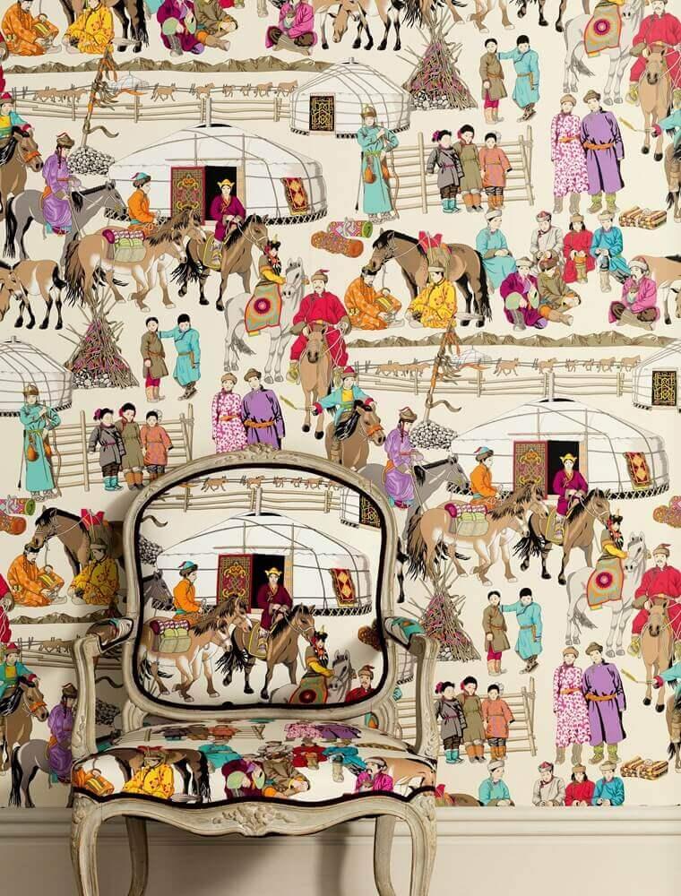 Hazara Wallpaper from Manuel Canovas