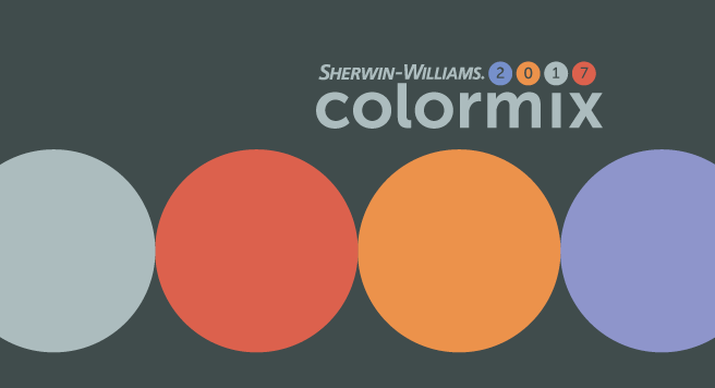 Sherwin williams colormix 2017 for Sherwin williams color of the month october 2017