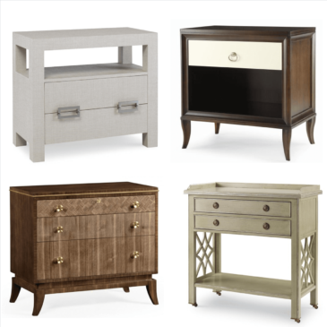 Bedside Tables: Style + Storage Within Reach