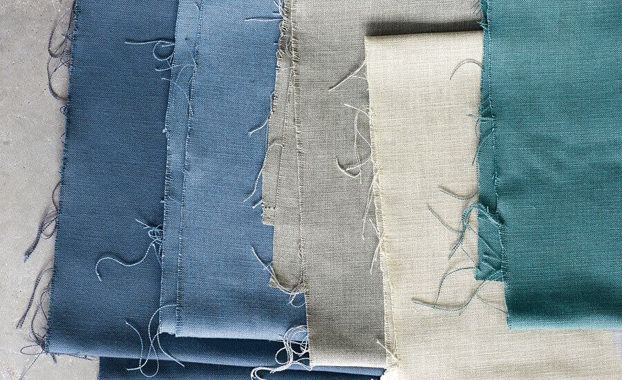 Cambay EasyClean Woven Fabric by Villa Nova