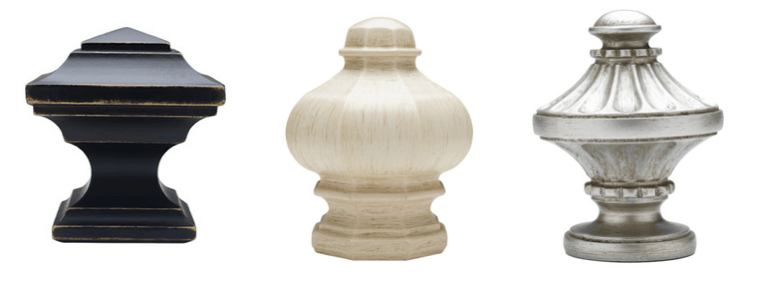 Drapery Hardware | Finials from Select