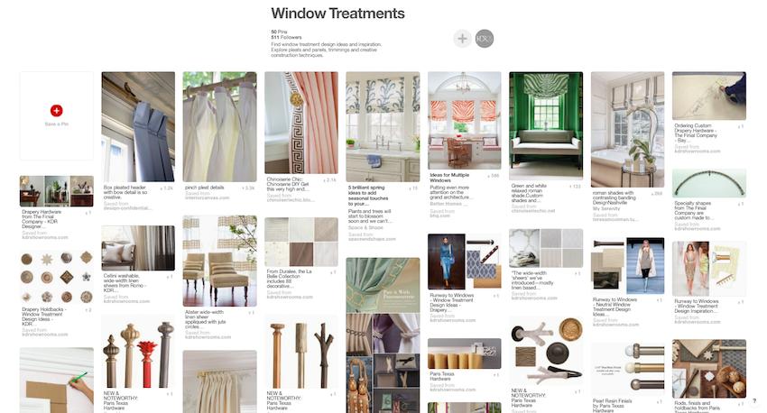 Window Treatment Design Ideas on Pinterest