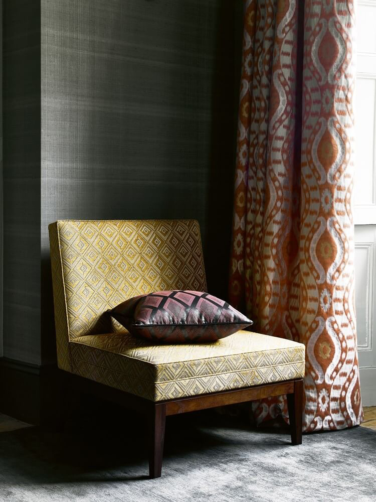 Drapery and upholstery fabrics from Jane Churchill
