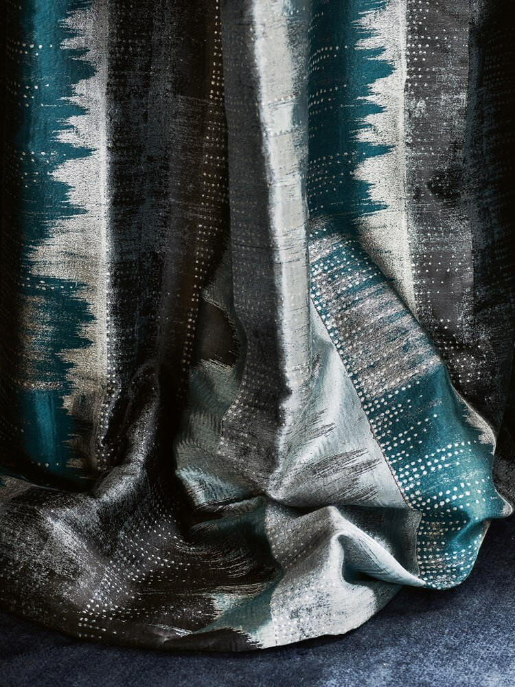 Modern Metallic Fabric | Jane Churchill