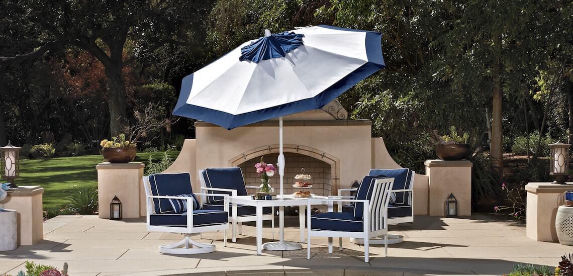 Made In The Shade: Patio Umbrellas By Treasure Garden
