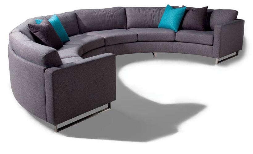 Design Clic 1224 Circle Sectional By Milo Baughman For Thayer Coggin