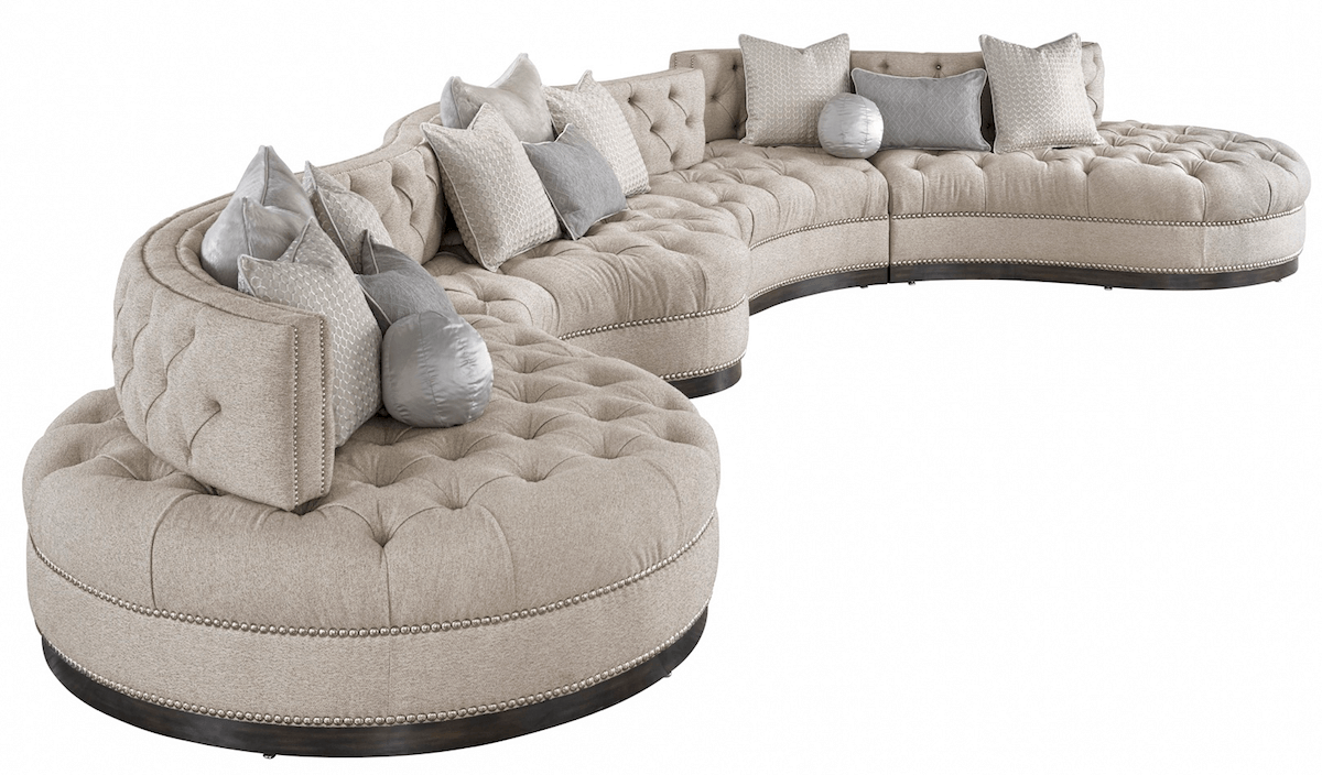 Marge Carson Sectional Image
