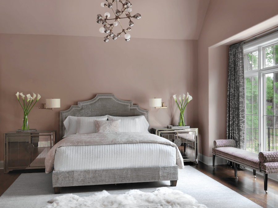 Master Bedroom | Design by ADJ Interiors - St. Louis, MO