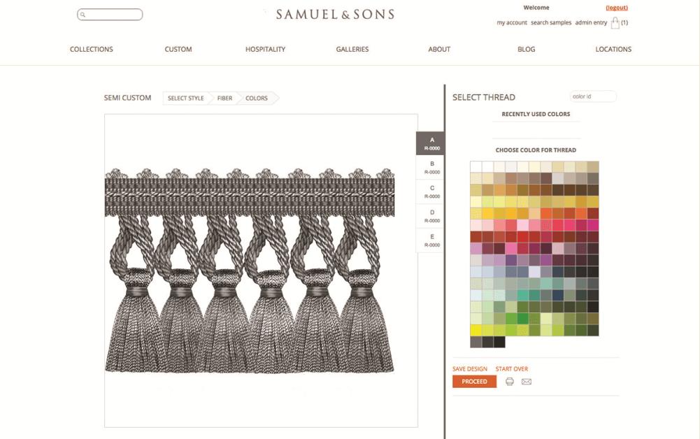 Semi Custom Program   Online Design Tools
