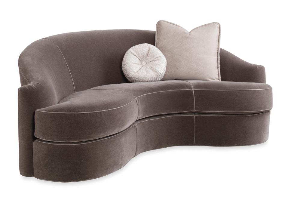 Swaim 807 kidney-shaped Sofa