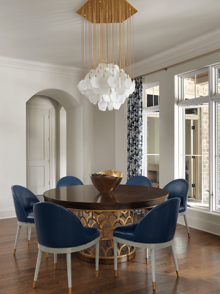 Breakfast Room designed by ADJ Interiors in St. Louis, MO