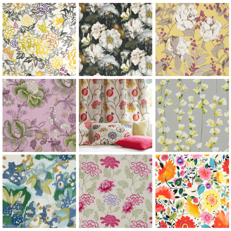 Colorful Floral Fabrics