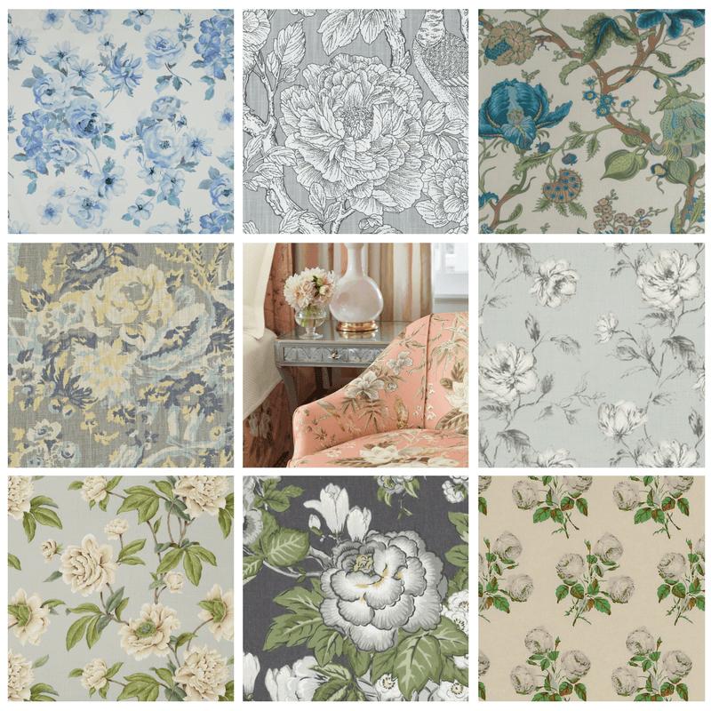 Traditional Floral Fabrics | KDR Designer Showrooms