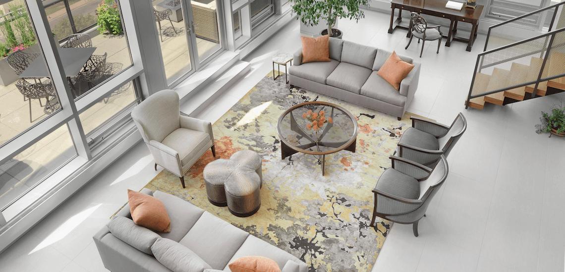Castle Design   Minneapolis Penthouse Living Room