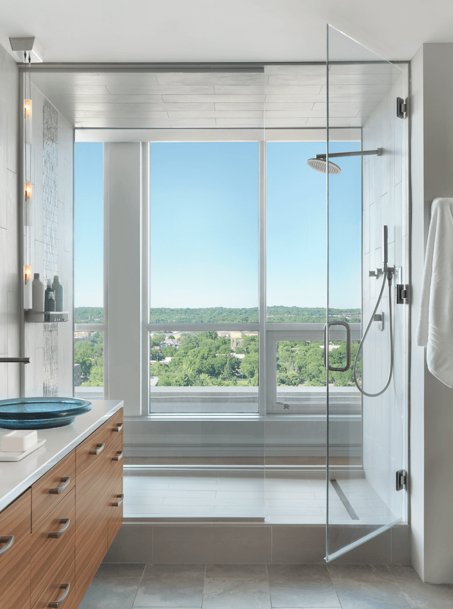 Master Bathroom Shower - Castle Design