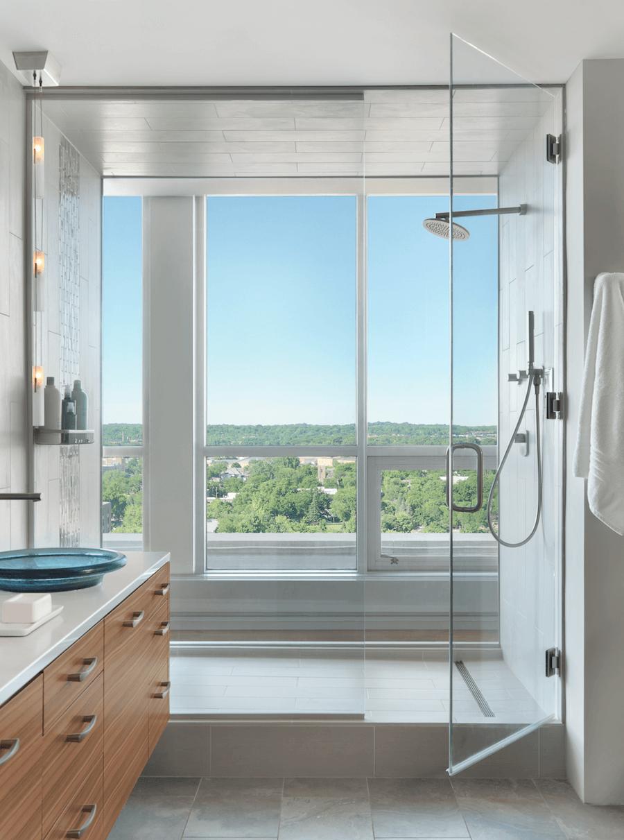 Master Bathroom Shower - Castle Design