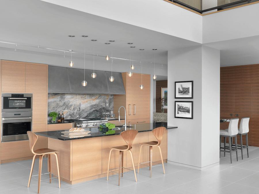 Minneapolis Penthouse - Transitional Kitchen by Castle Design