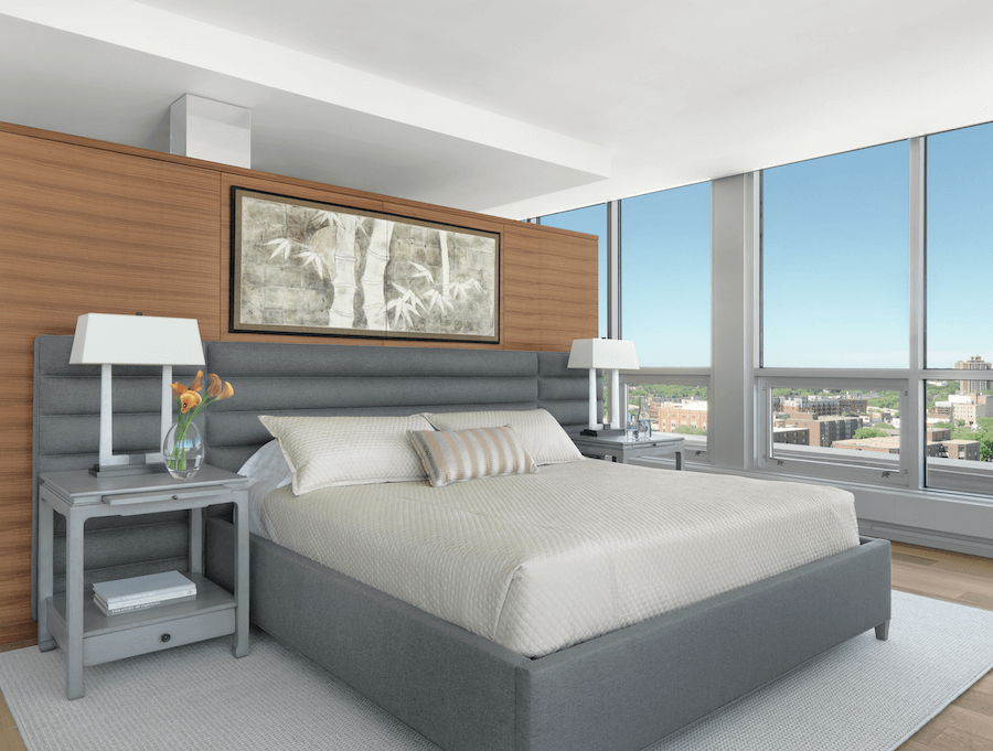 Modern Master Bedroom by Castle Design