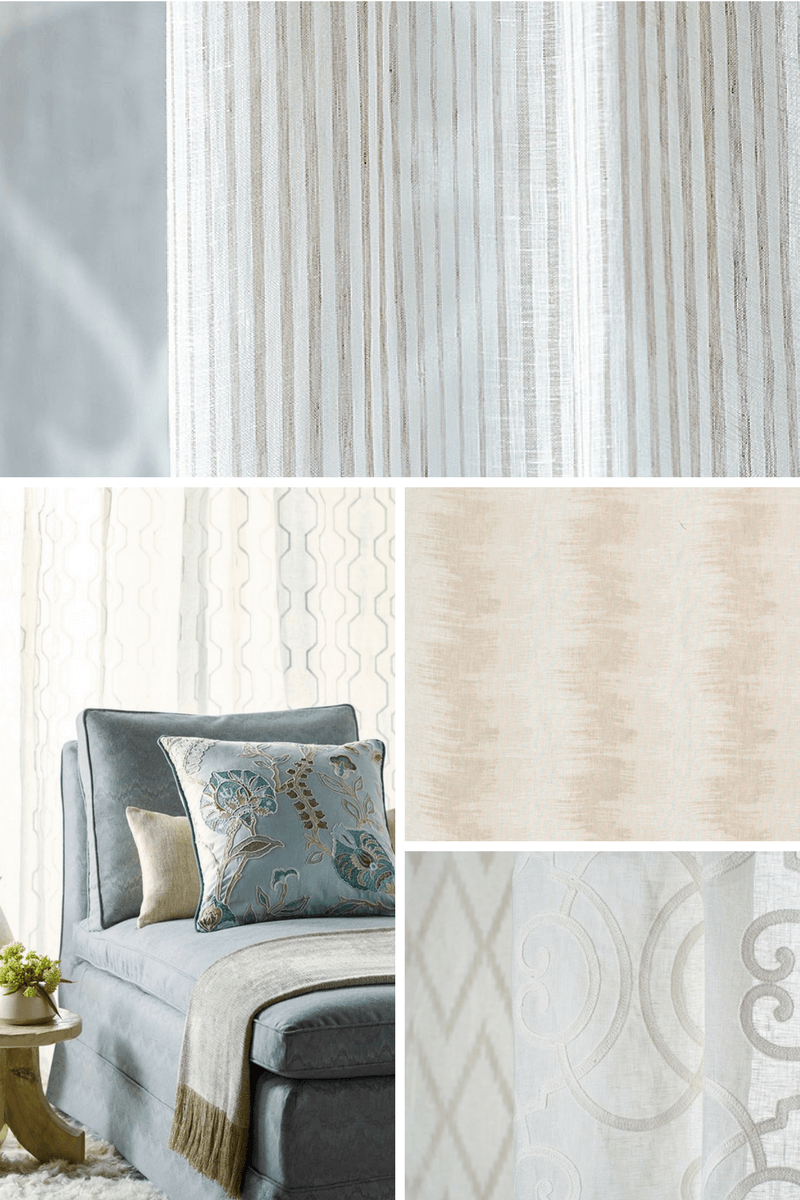Cowtan and Tout Linen Sheers -the Design Digest