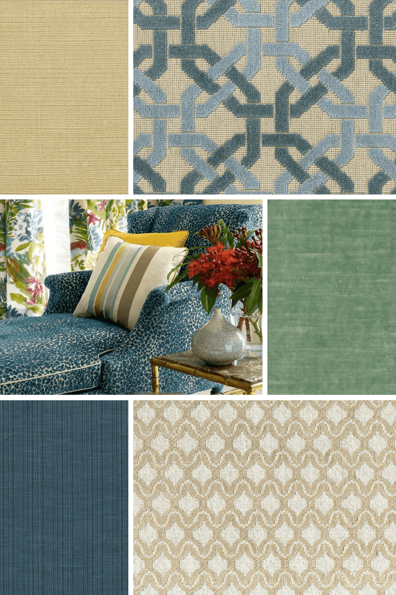 Cowtan and Tout Linen Velvet - the Design Digest