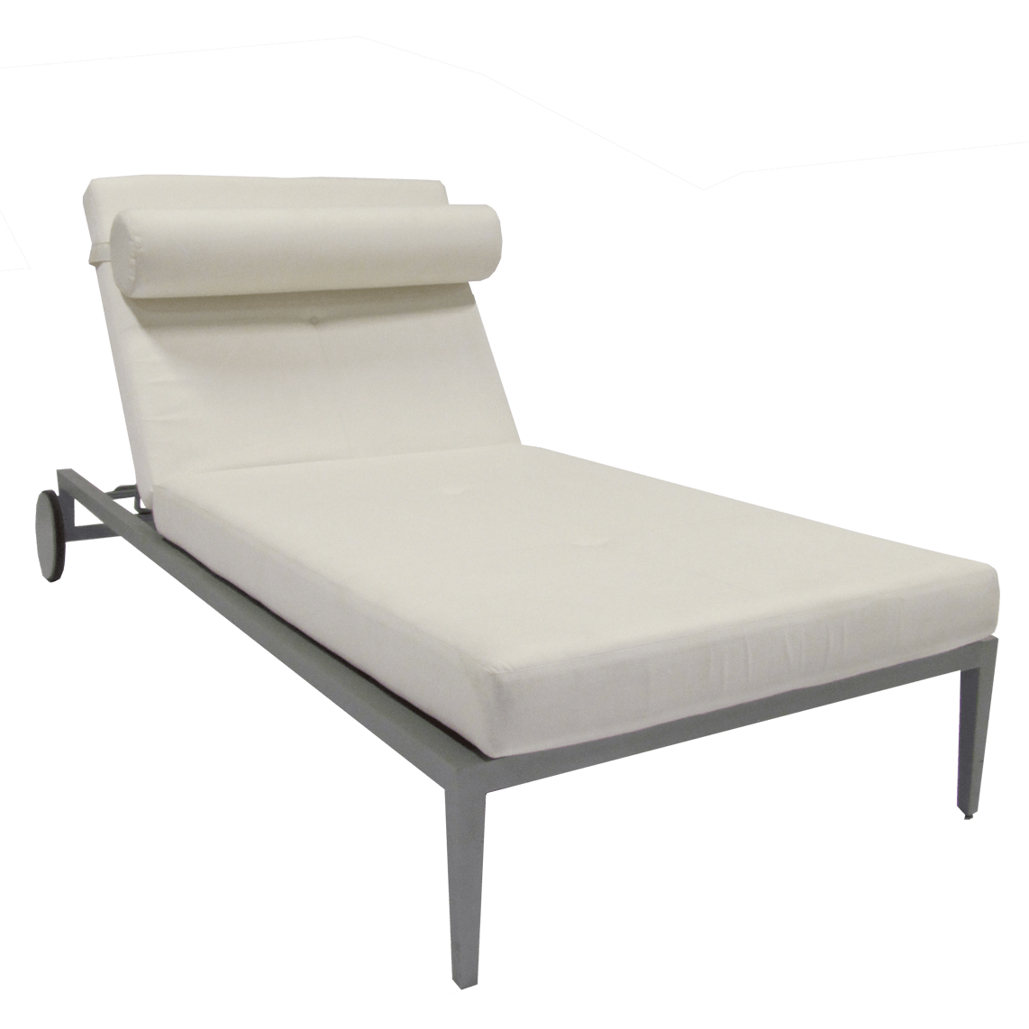Great 30  Outdoor Chaise Lounge with Wheels