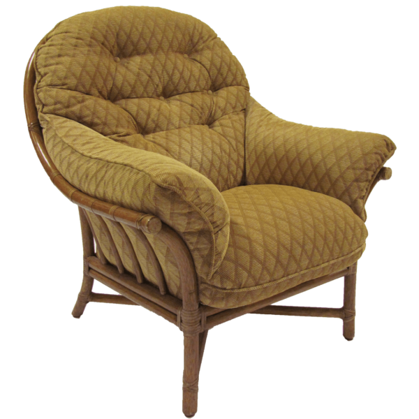 McGuire Tall Back Easy Lounge Chair