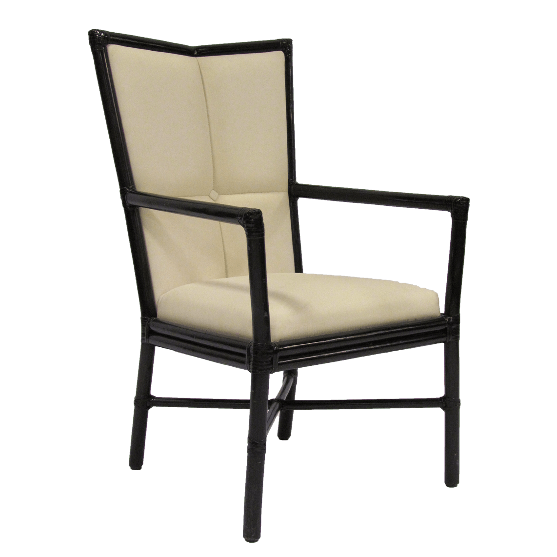 McGuire Cambria Arm Chair by Orlando Diaz-Azcuy