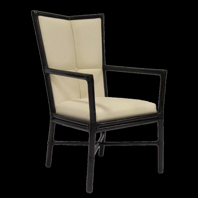 McGuire Cambria Arm Chair by Orlando Diaz-Azcuy