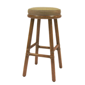 McGuire Classic Round Seat Counter Stool