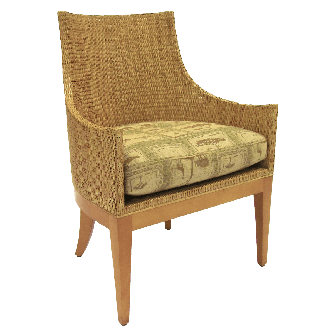 McGuire. ORLANDO DIAZ AZCUY UMBRIA ARM CHAIR