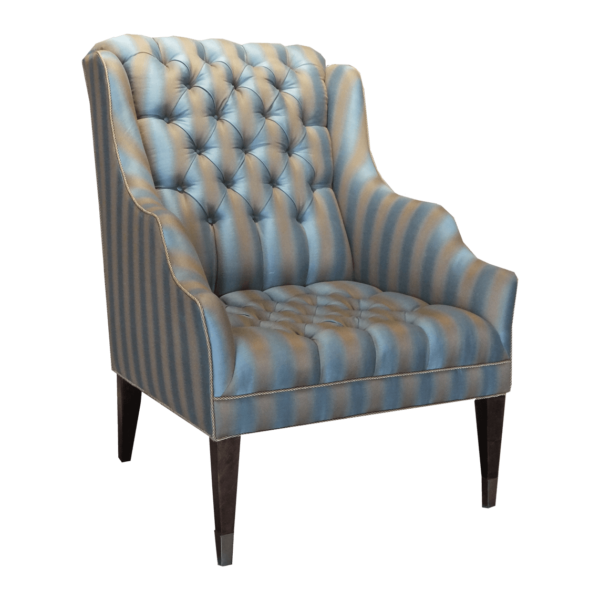 Swaim Tufted Wingback Arm Chair