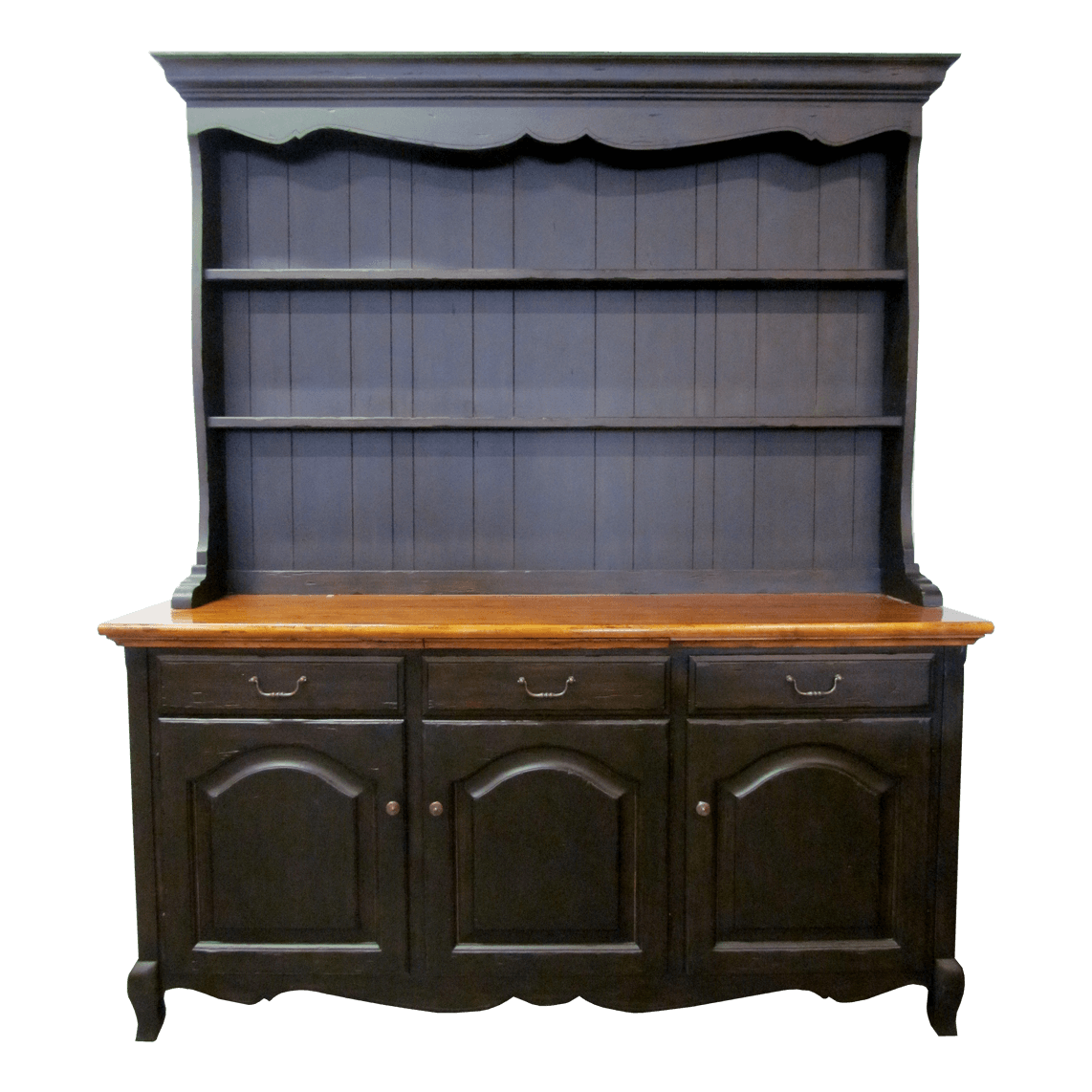 French country china cabinets - Clearance Cabinets Bookcases French Country Sideboard With China Hutch Fremarc Wooden Hutch
