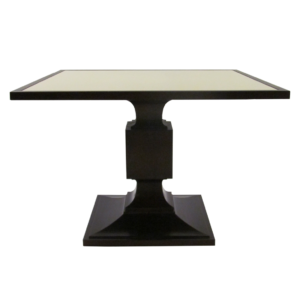 Thomas Pheasant Leather Top Dining Table