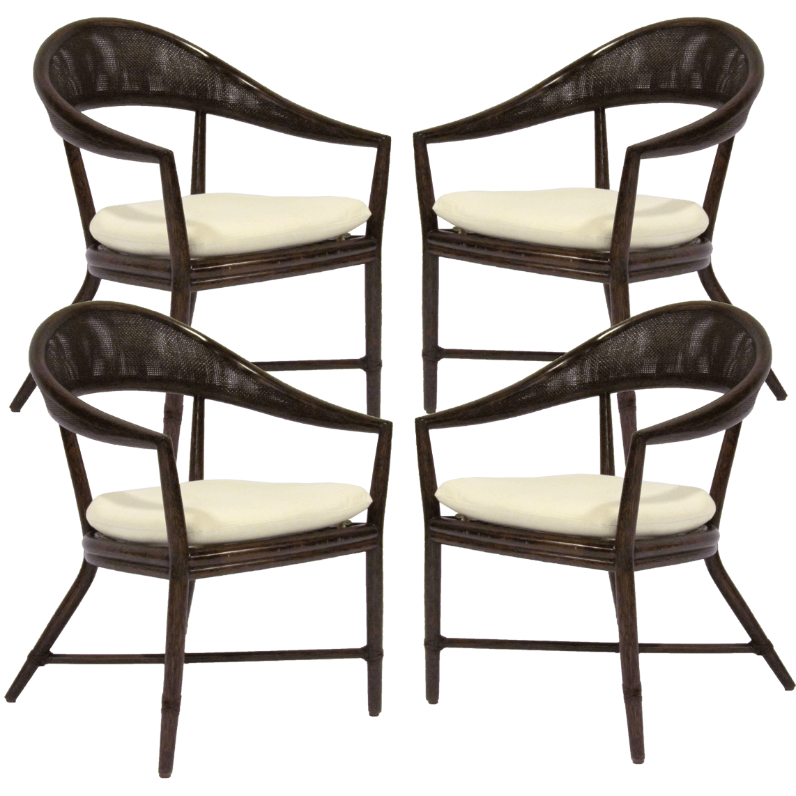 McGuire Mallorca Chair Set of 4