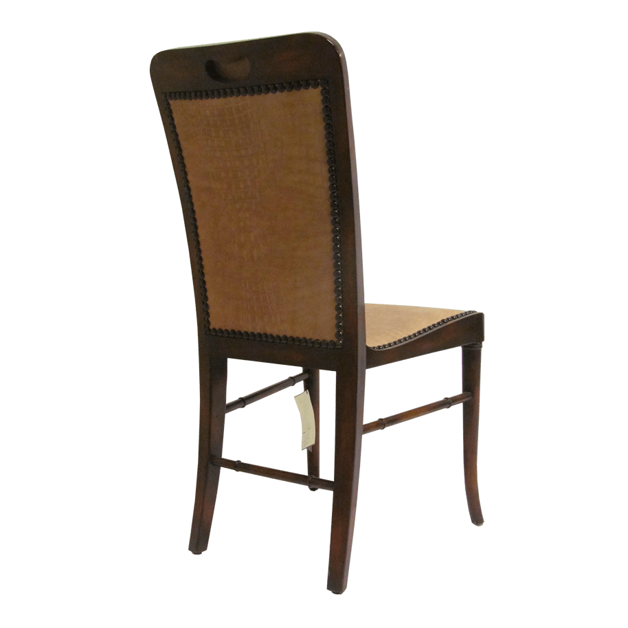 Theodore Alexander Acacia Side Chair Rear view image