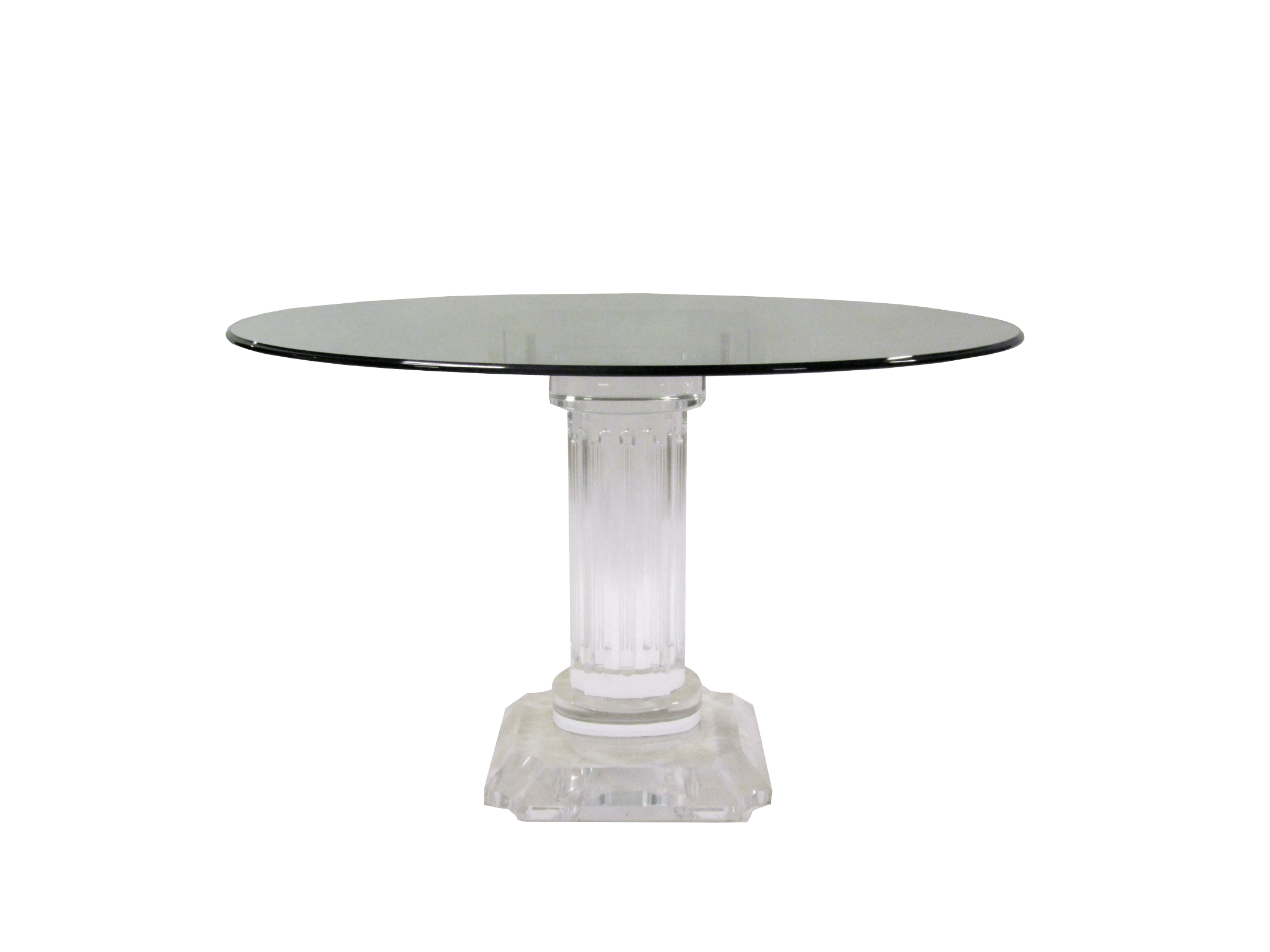 Rome Acrylic Dining Table Kdrshowrooms Com